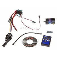 ZTW (ZTWSS60A+13.5T) 60A Sensored / Sensorless Brushless ESC Combo with 13.5T Sensored Motor, Setup Card and USB Interface